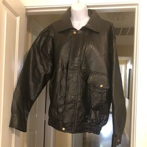 Other - Mens leather coat